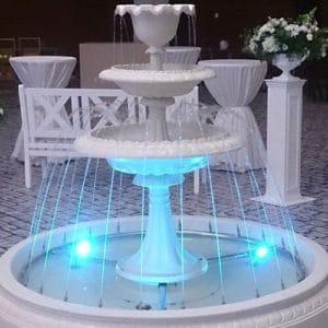 Готовые фонтаны из стекловолокна